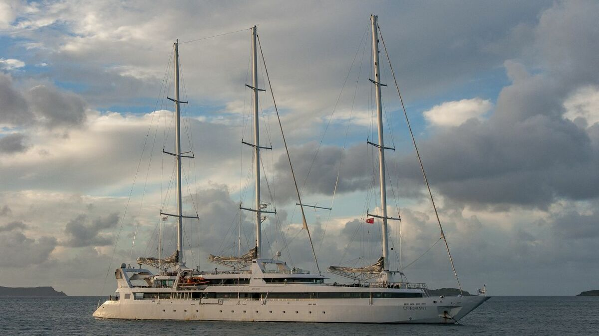 Ponant to refurbish flagship cruise yacht