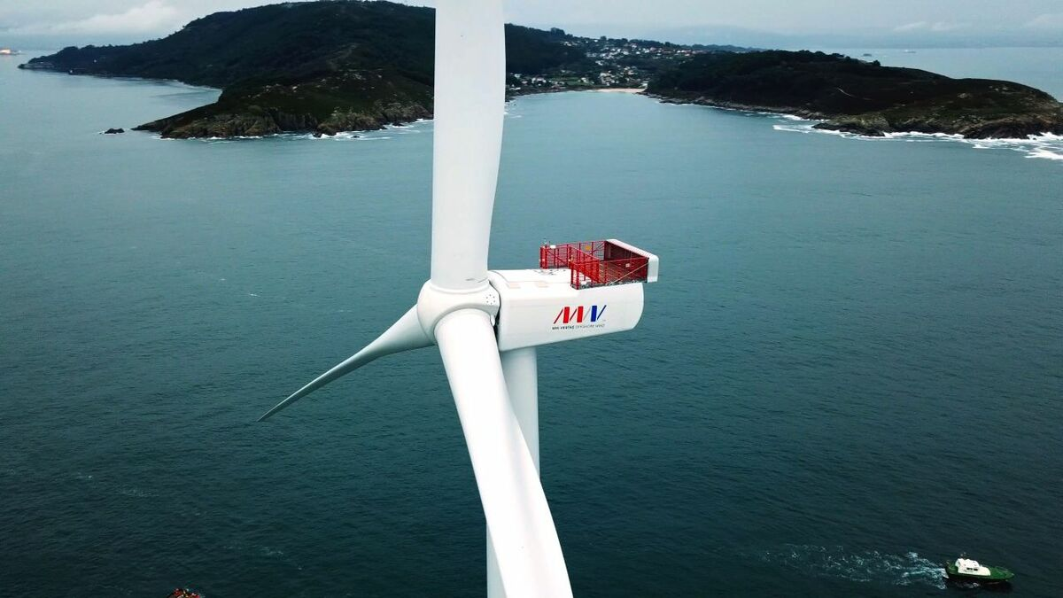 MHI Vestas has won five contracts for floating wind projects