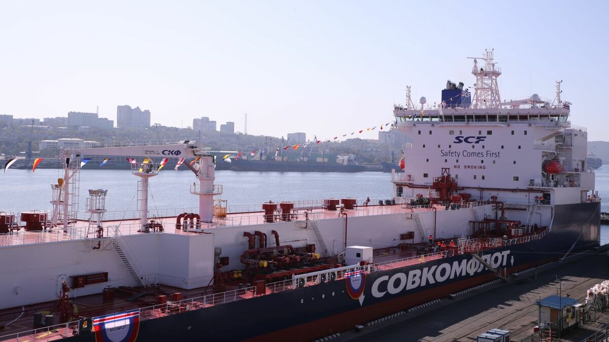 The naming ceremony for shuttle tanker Mikhail Lazarev took place in Vladivostock