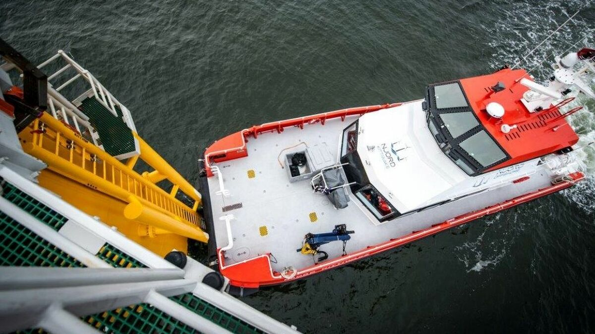 Njord Offshore has provided crew transfer vessel expertise to the Taiwan JV