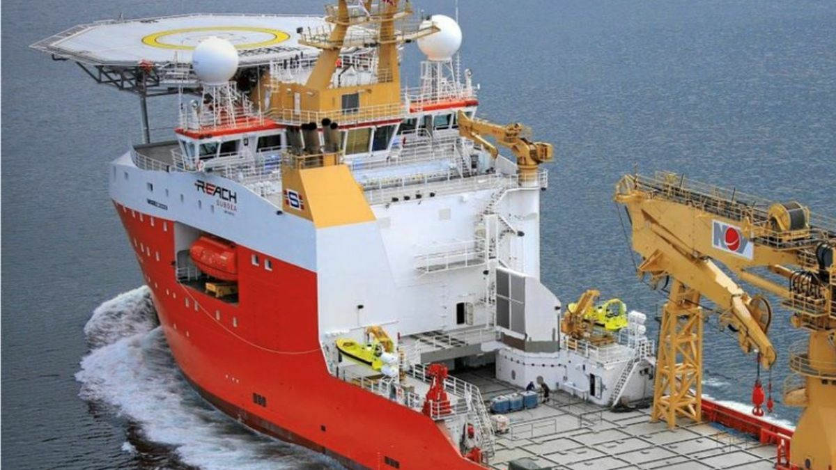 Normand Frontier joins Seabed Constructor and MV Island Pride in Ocean Infinity's fleet