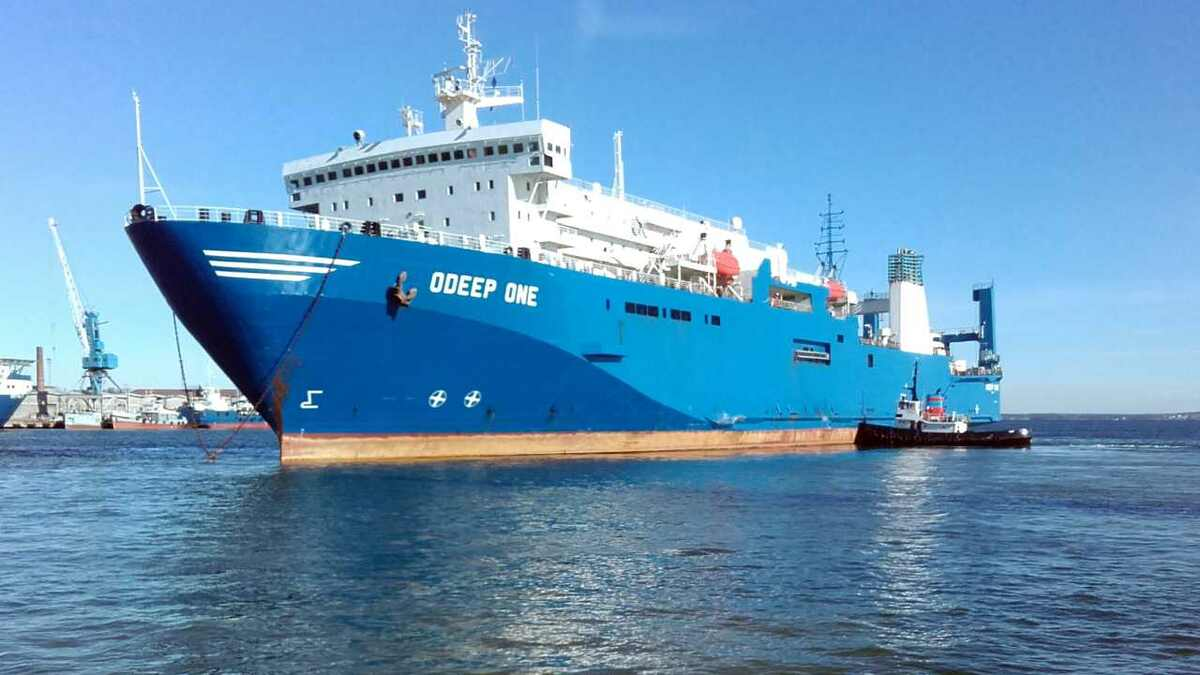 OFW Ships has Marlink VSAT on board ODeep One for crew and operational communications