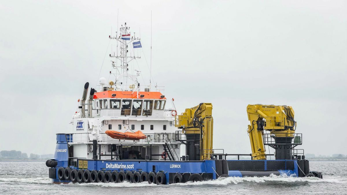 Dutch yard designs 'Swiss Army knife' for offshore renewables