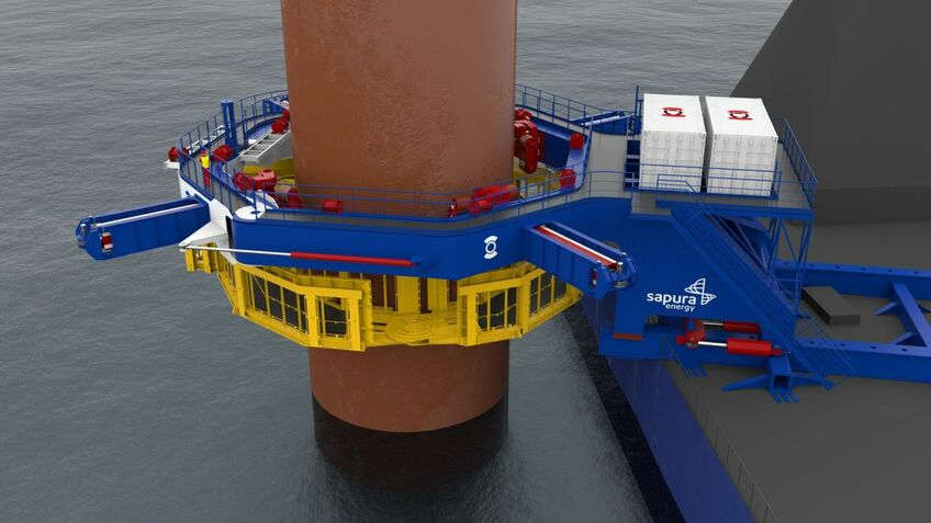 Sapura Energy's pile gripper will be installed on one of its construction vessels