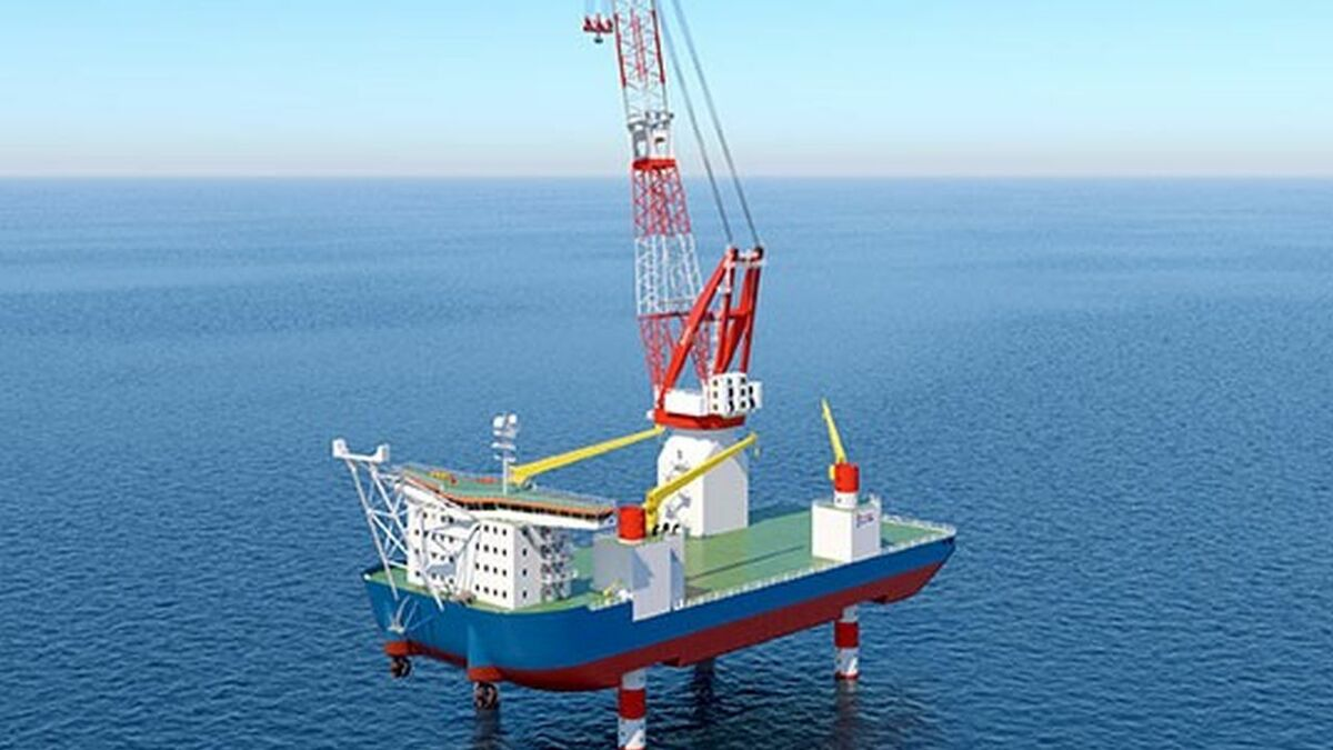 Huisman to deliver leg-encircling crane for Penta-Ocean installation vessel