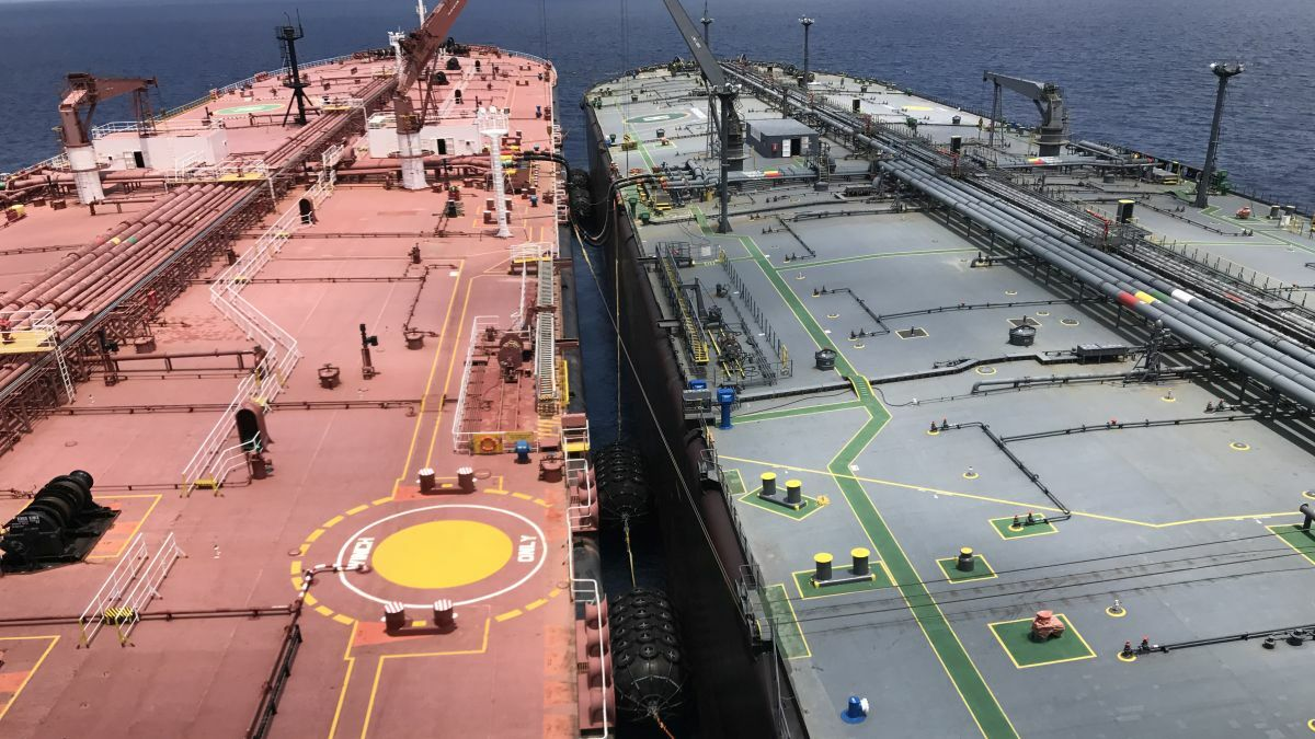 Are tankers sanction busting?