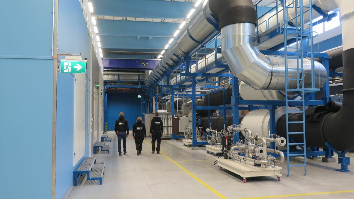 Testing at Koja's R&D centre shows potential for reductions in electrical and cooling energy