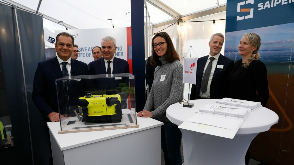 Saipem's contract with Equinor will see the deployment of a wireless underwater intervention drone