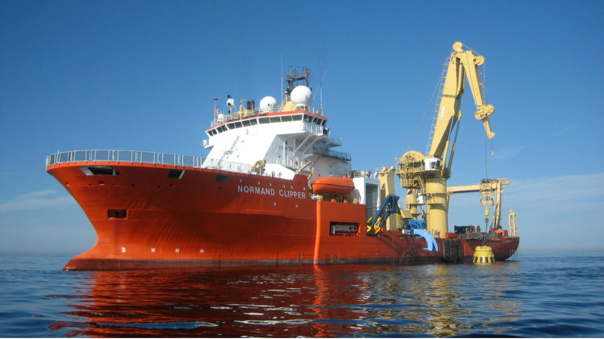 A three-year charter will see the CSV Normand Clipper support renewable and oil and gas activity