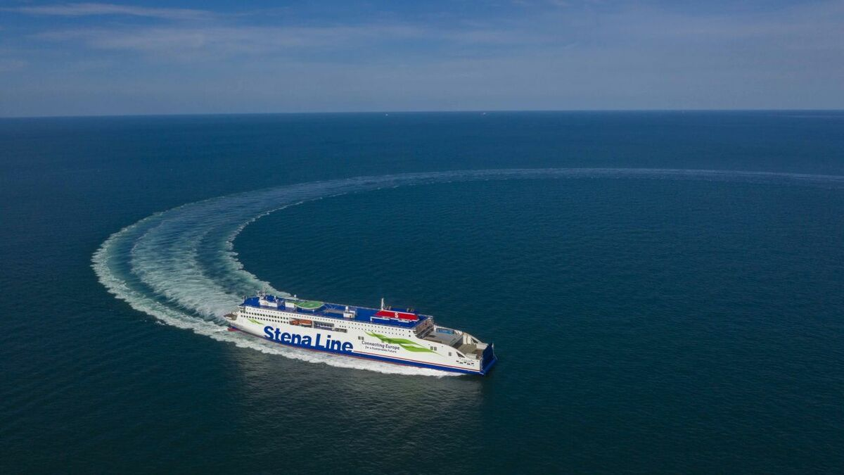 Stena Estrid: first of five ferries delivered by Chinese shipyard