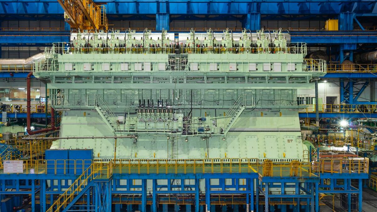 WinGD's dual-fuel engines for CMA CGM's ultra large container ships are the largest ship gas engines