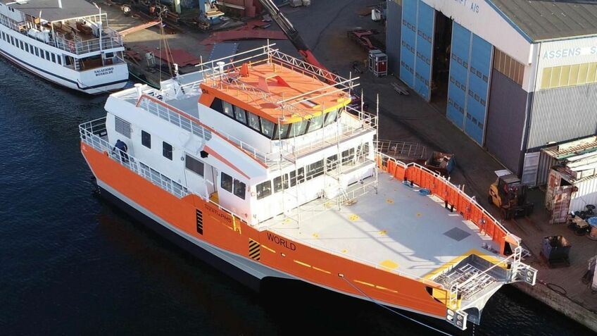 World Marine Offshore's crew transfer vessels are approaching completion