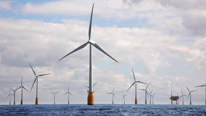 Vattenfall wants to extend the Thanet windfarm with 34 turbines