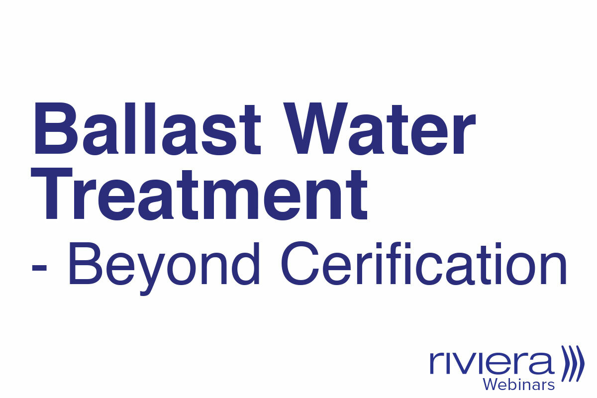 Ballast Water Treatment - Beyond Certification