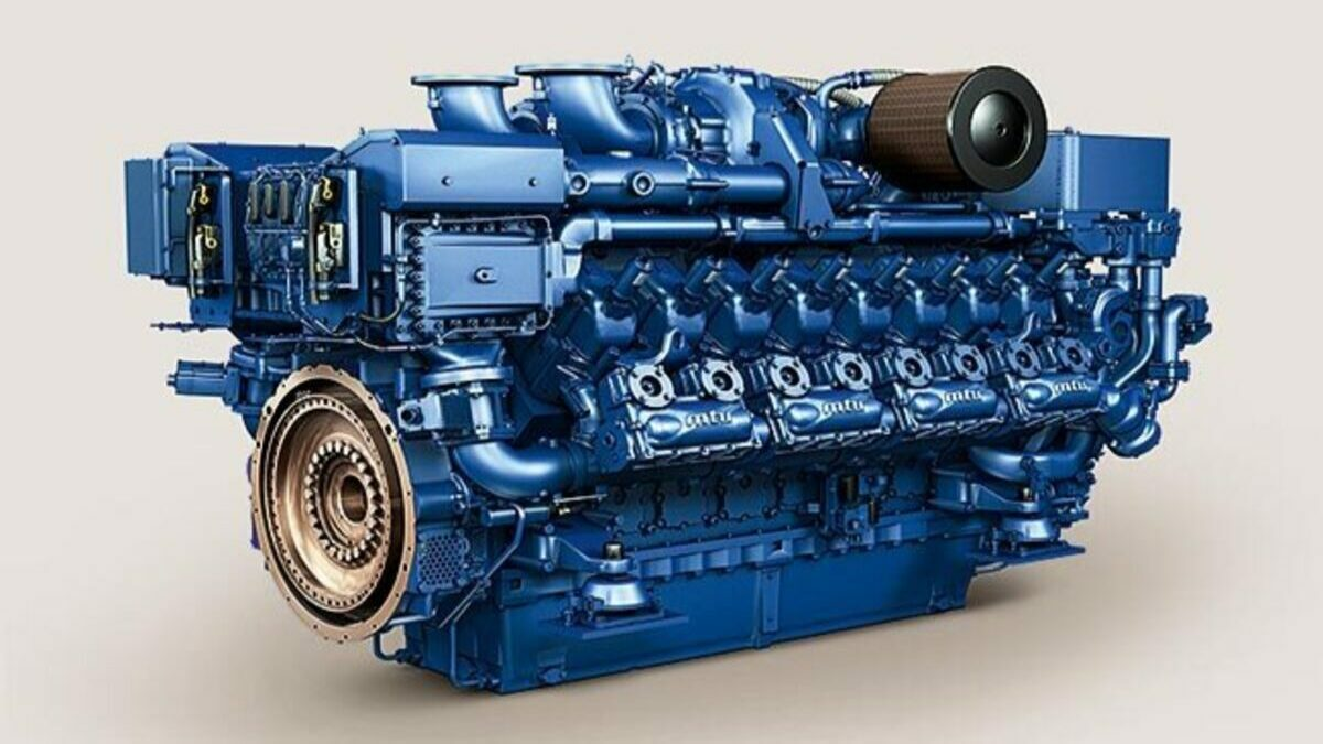 China's AFAI Southern Shipyard ordered 14 MTU engines from Rolls Royce Power Systems