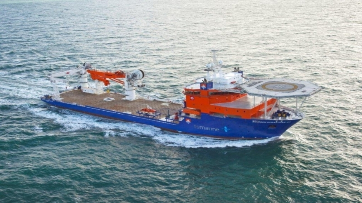 Oceamteam will defer the loan repayment by two years (CSV Southern Ocean)