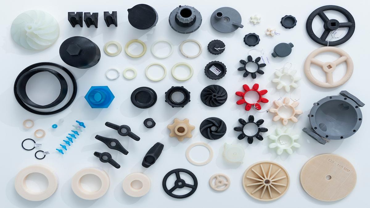 Wilhelmsen's 3D printing parts (credit: Hans Fredrik Asbjørnsen)