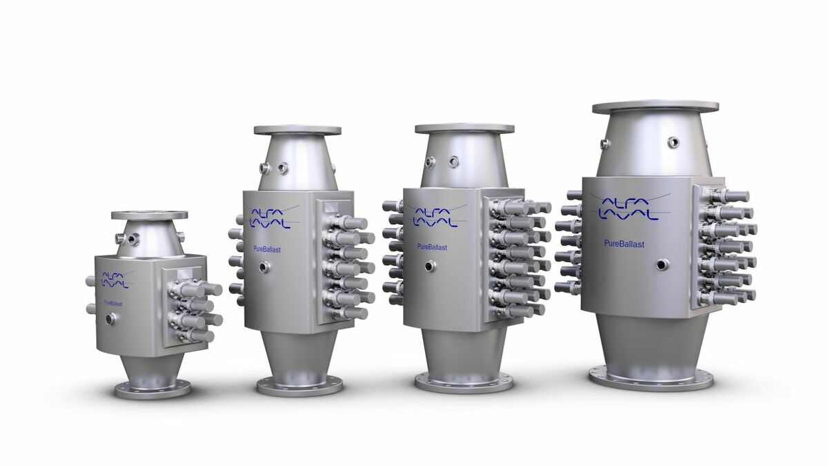 Alfa Laval Pureballast family: Alfa Laval supported the research