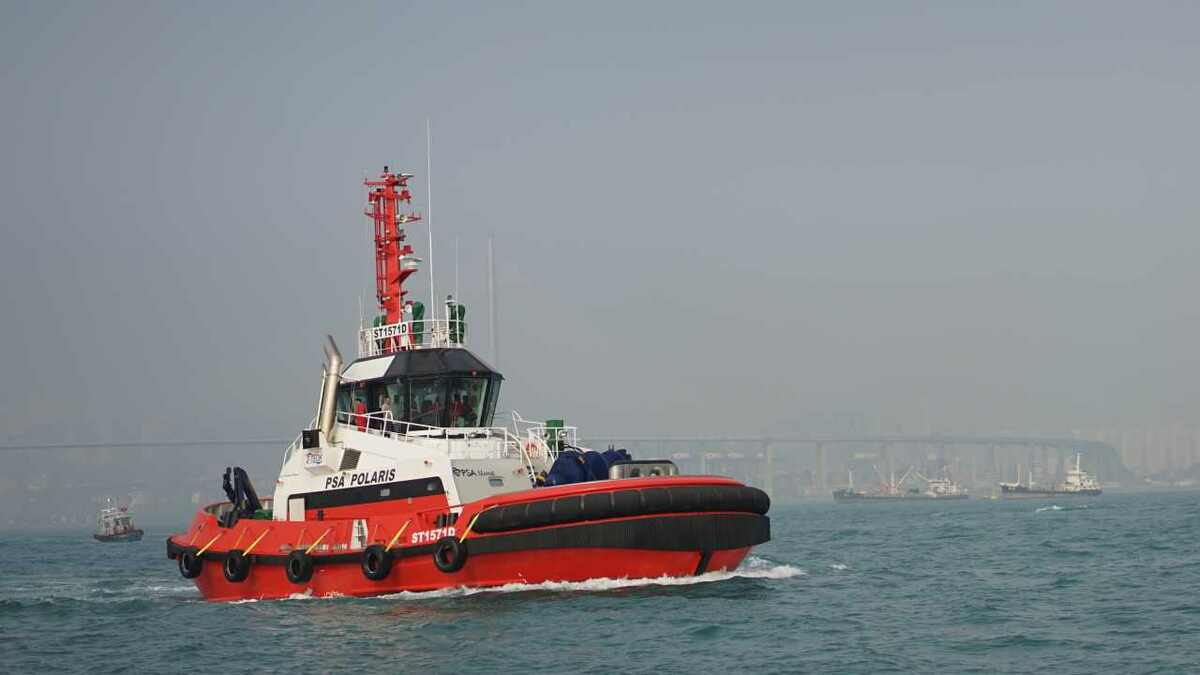 Cheoy Lee builds ASD tugs for fleet owners including PSA Marine in Singapore