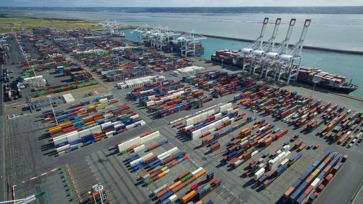 DP World is building new container ship berths at the Port of Le Havre, France