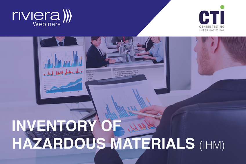Inventory of Hazardous Materials webinar