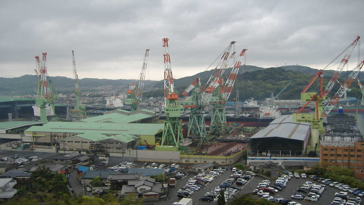 Japanese shipbuilders plan alliance