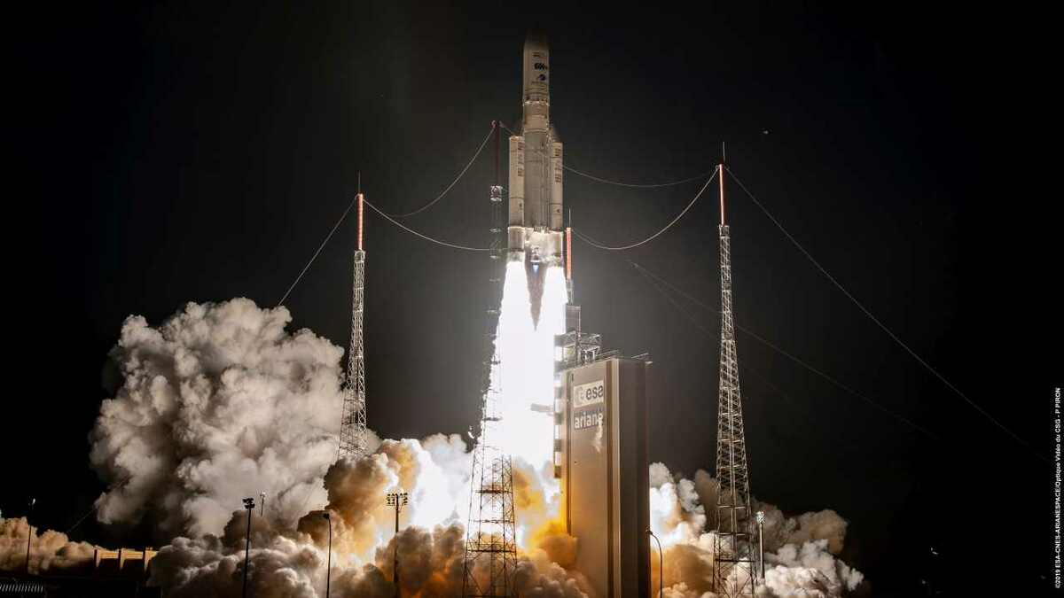 Inmarsat's GX5 satellite is launched by Arianespace in Kourou, French Guiana