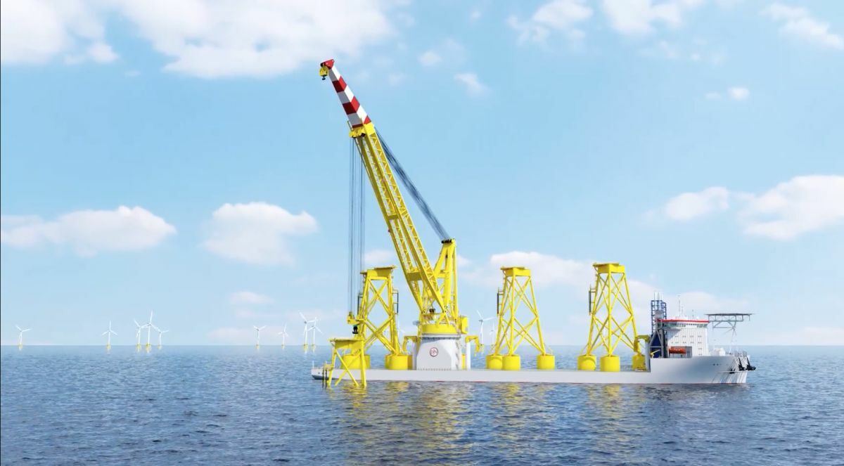 Larger wind turbines propel demand for big installation vessels