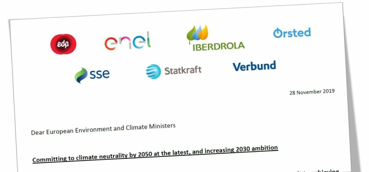Energy companies call on EU for more ambitious 2030 climate target