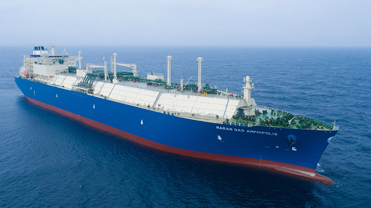 The newbuild LNG carrier will be fitted with an air lubrication system