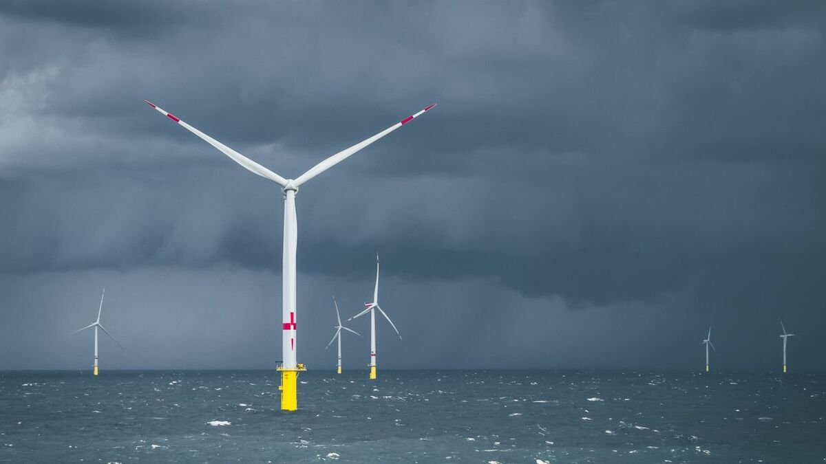 The companies that developed the Merkur offshore windfarm are selling it on