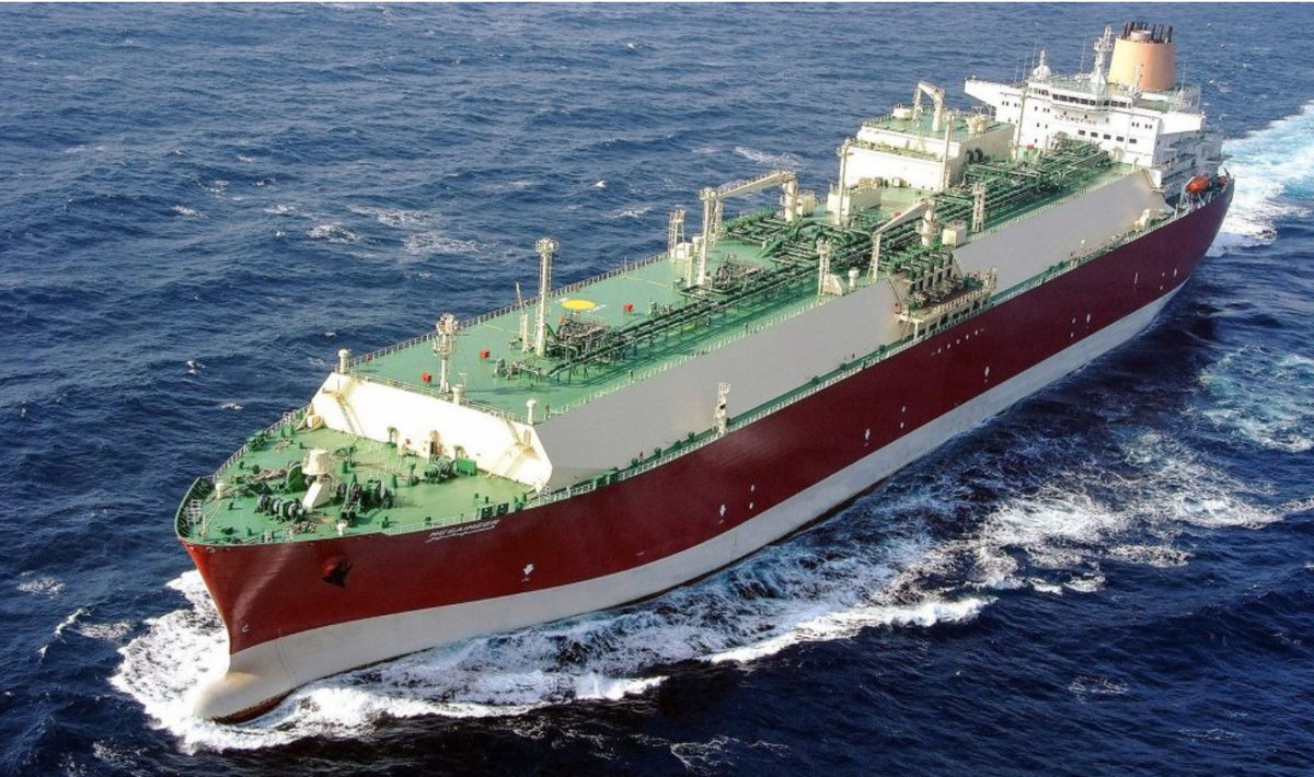 Operated by Nakilat, the Q-Max LNG carrier Mekaines was built by SHI in 2009