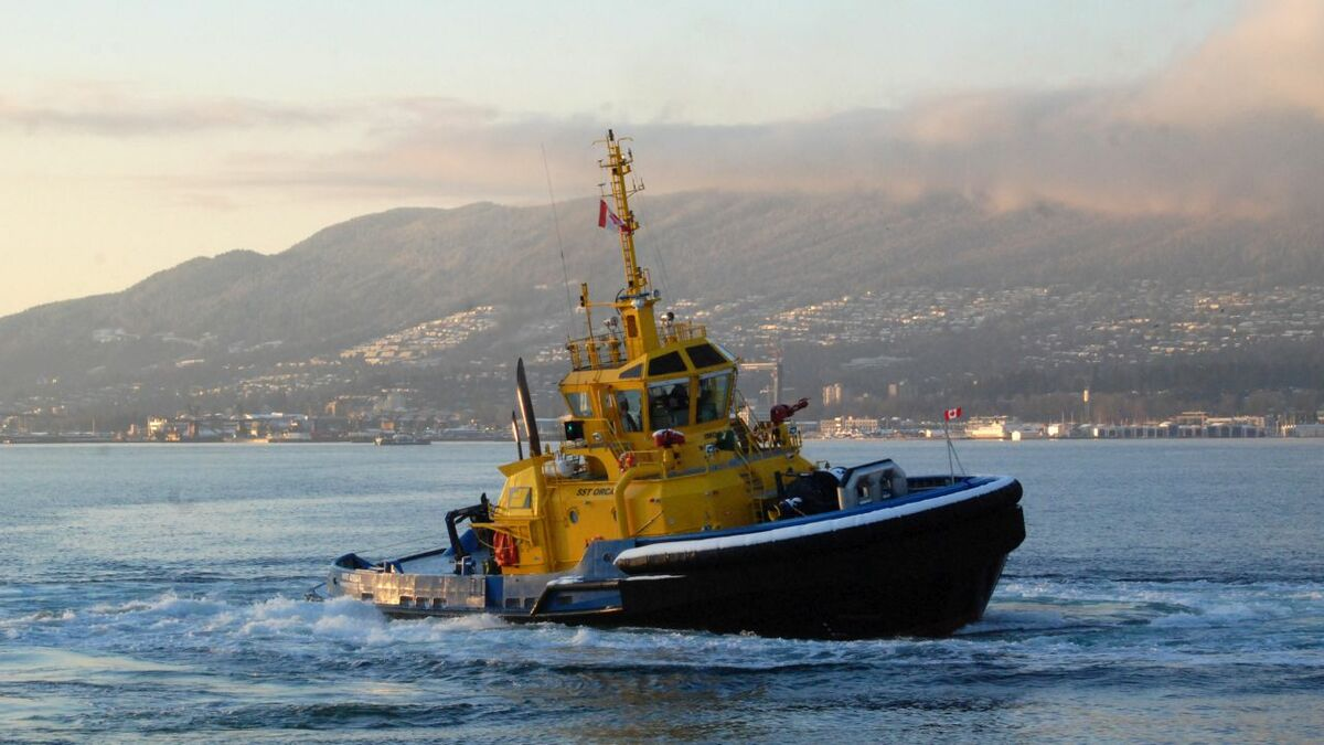 Cheoy Lee built this escort tug to RAstar 3200 design for SAAM's Canadian operations in 2018