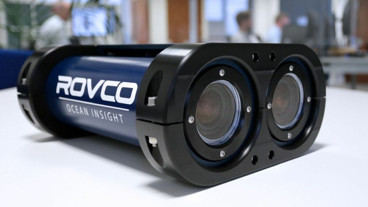Rovco believes its live 3D streaming from the seabed is a world first