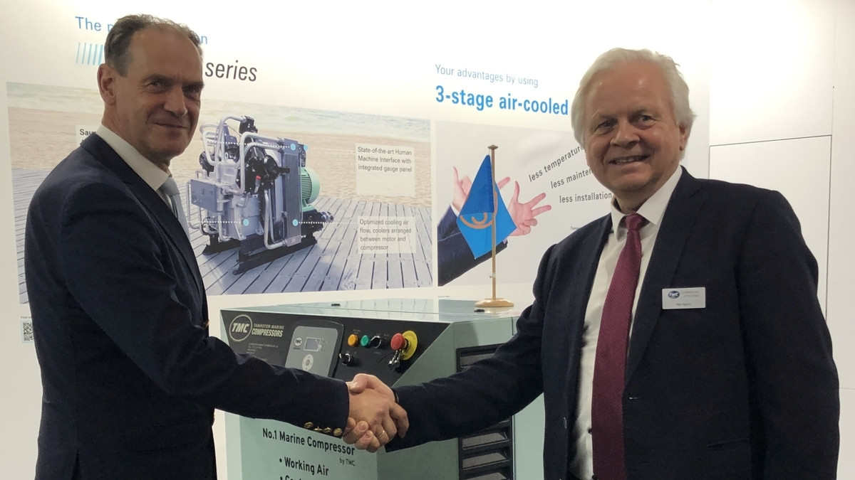 Marine compressor technology companies form partnership
