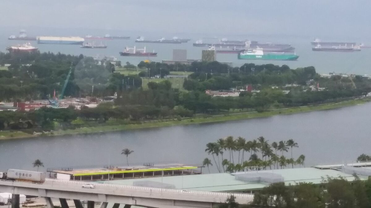 Singapore is the number one tanker movements hub