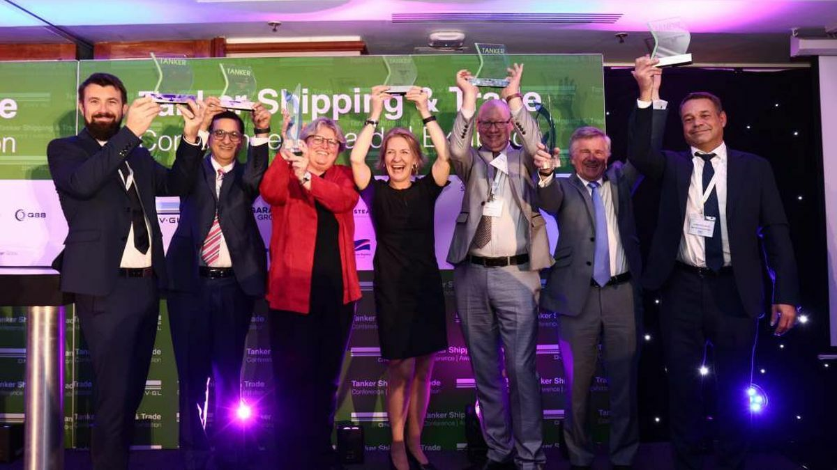Tanker awards recognise experience and dedication