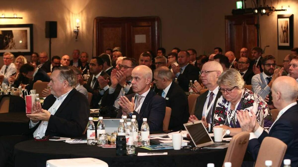 Tanker owners and operators at day one of the Tanker Shipping & Trade conference in London