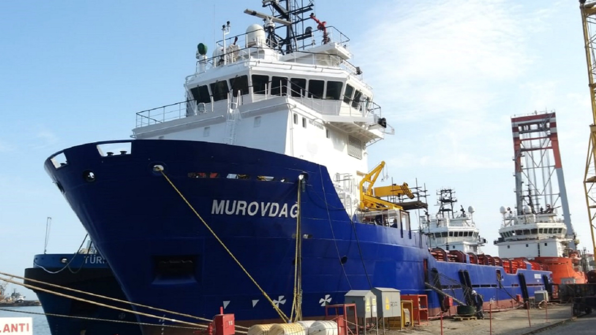 Murovdag was one of five vessels acquired by CMS and reactivated