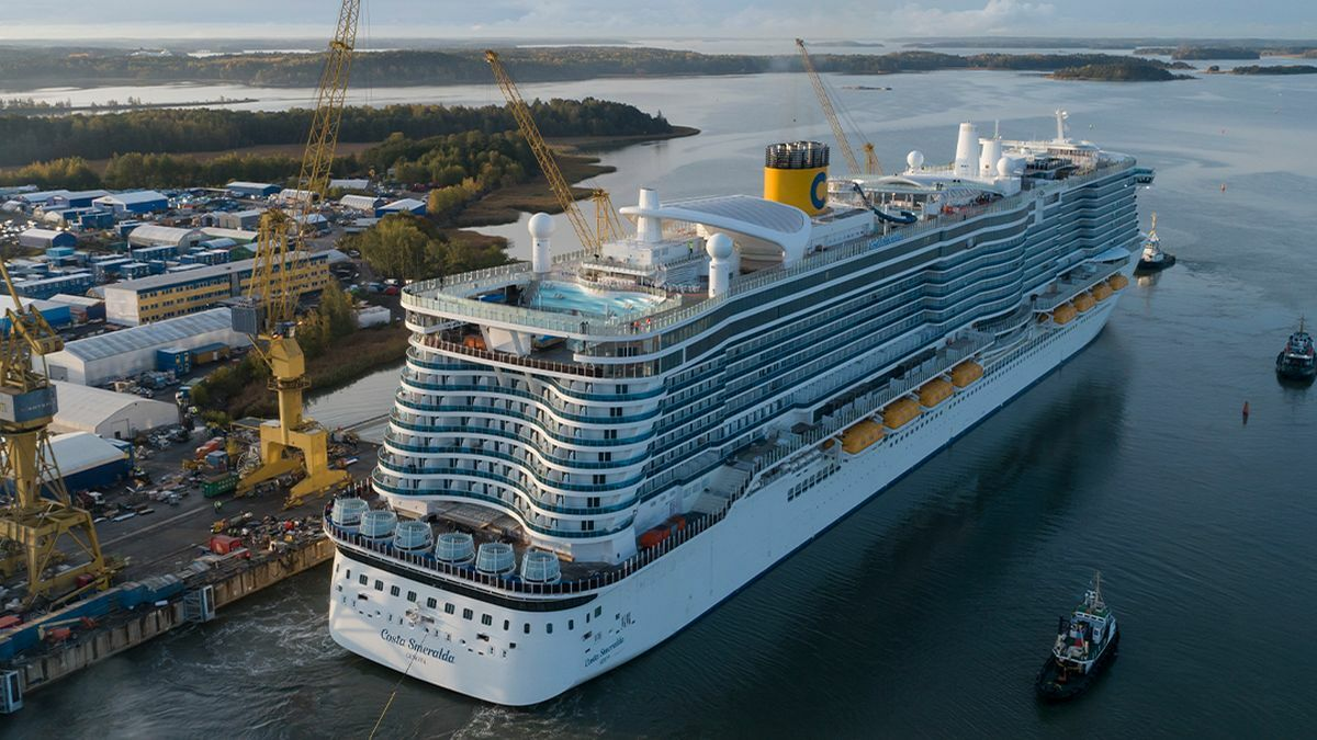 Carnival Corp worked with Meyer Turku to optimise the location of the LNG tanks on Costa Smeralda