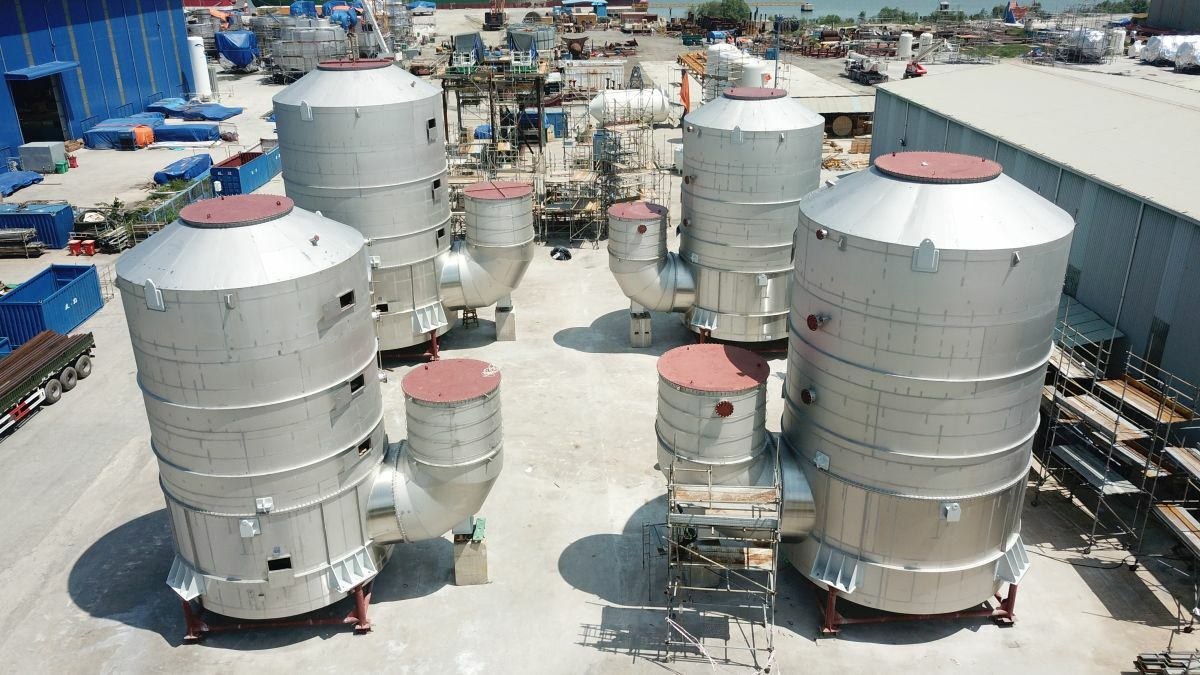 The cruise market is an early adopter of scrubbers, but there are many retrofit orders to be won