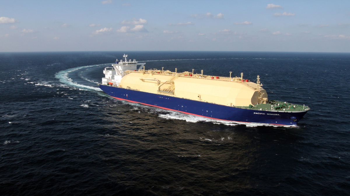 LNG carrier Pacific Mimosa was certified by ClassNK