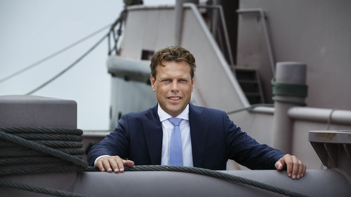 Arnout Damen will become CEO Damen Shipyards on 1 January 2020