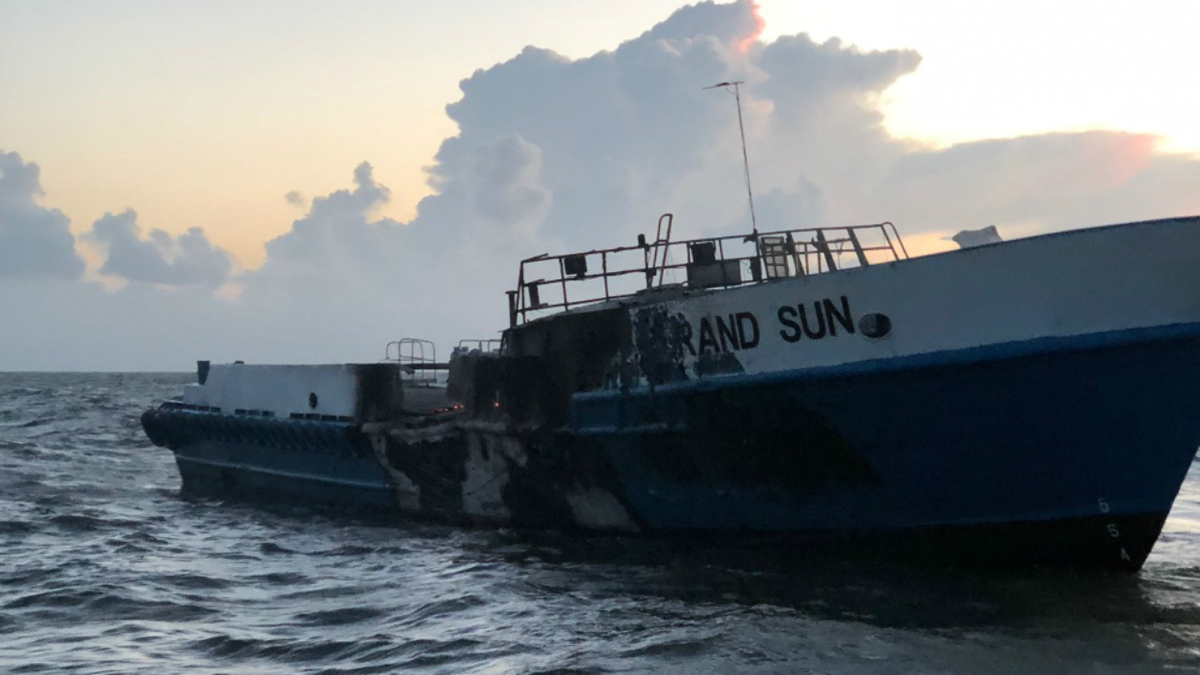 NTSB report: panelling and drapes contribute to OSV fire damage