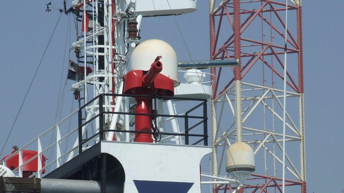 Furuno radar on a Topaz OSV in UAE