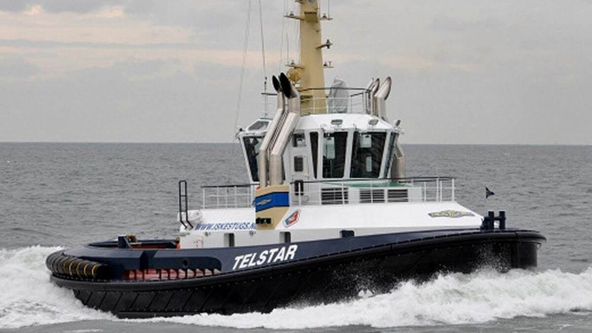 Iskes's 2016-built Telstar is part of the PTA fleet
