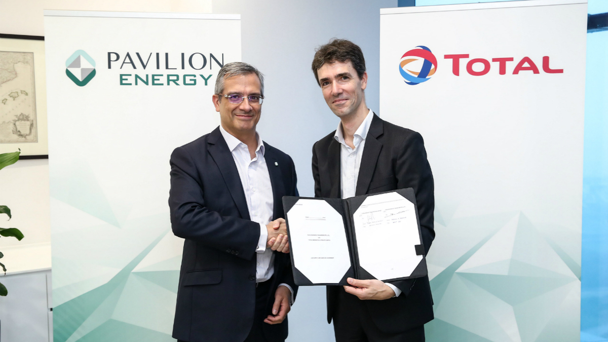 Pavilion Energy and Total will share a new LNG bunkering vessel under the deal