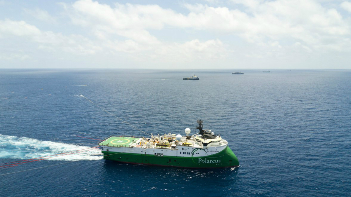 Polarcus operates a fleet of seismic vessels with up to 14 streamers