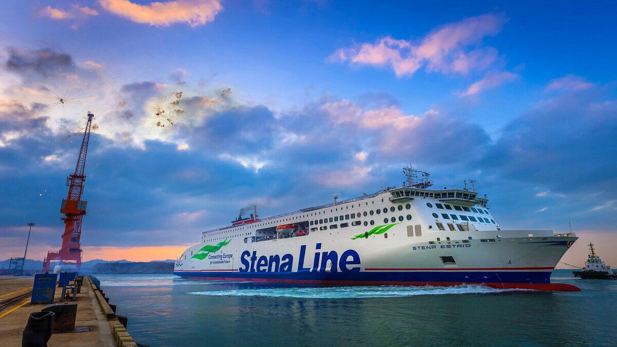 Stena Estrid will serve the Holyhead to Dublin route