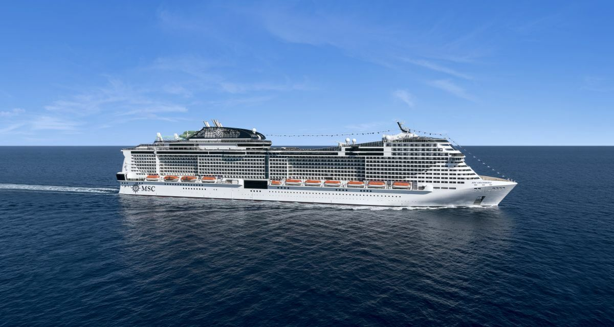 MSC Grandiosa is considered an energy-efficient role model (image: MSC Cruises)